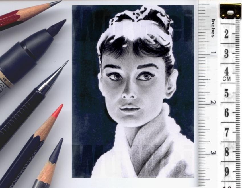 Audrey Hepburn by wu-wei